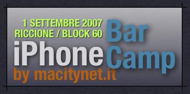 iPhone BarCamp: a Riccione il primo settembre