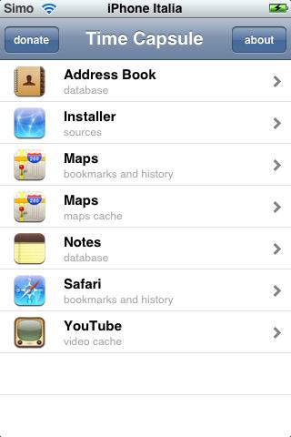 TimeCapsule, backup per il nostro iPhone
