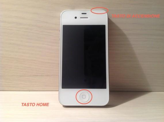 Tasto di accensione iphone 6s bloccato