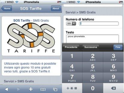 sms gratis wifi