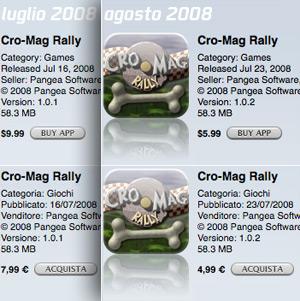 app store prezzi applicazioni