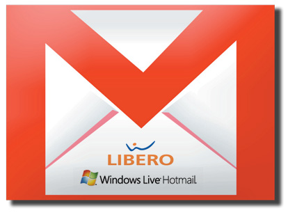 gmail libero hotmail forwarding