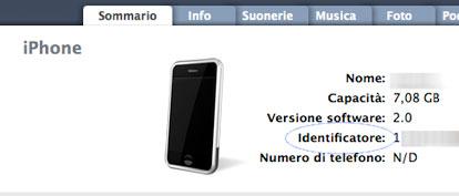 UDID, il codice identificatore dell'iPhone - iPhone Italia