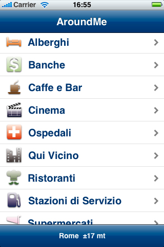 how to find podcasts on iphone aroundme cercare luoghi e servizi nelle vicinanze con l 5588