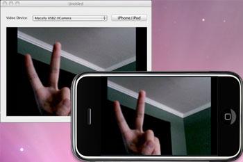 controllare webcam con iphone