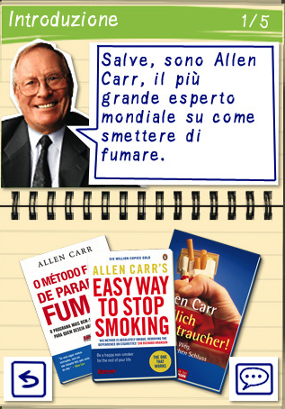 Legga il libro un modo facile di smettere di fumare