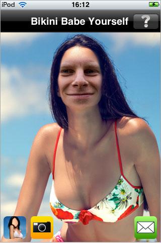 Crea una ragazza in bikini