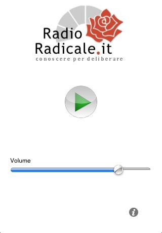 Radioradicale ascolta la radio in streaming su iphone for Radio parlamento streaming