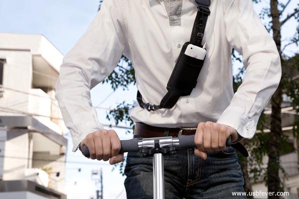Strap pocket un porta iphone da spalla iphone italia - Porta pistola da spalla ...