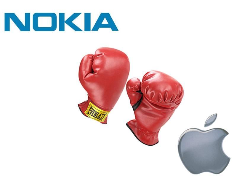 Nokia ganha batalha em processo movido pela Apple Nokia_apple