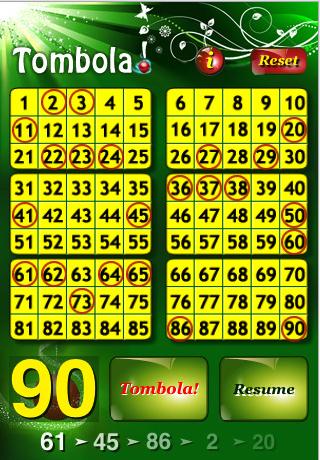 Tombola il popolare gioco da tavolo su iphone iphone italia - Tombola gioco da tavolo ...