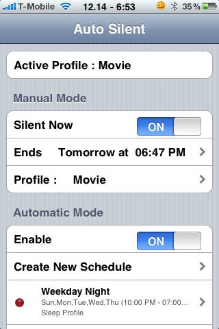 Imposta Calendario.Auto Profiles Manager Cydia Imposta Vari Profili Ed