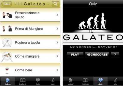Galateo a tavola impara le buone maniere su iphone - Regole del galateo a tavola ...