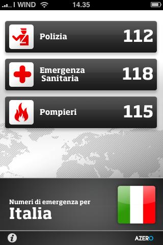 Global sos tutti i numeri d 39 emergenza di tutto il mondo for Numero deputati e senatori italiani