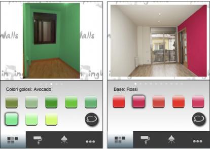 Paintingwalls l 39 applicazione che consente di colorare la tua casa si aggiorna iphone italia - Colorare pareti di casa ...