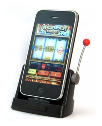 Svuotare slot machine con iphone