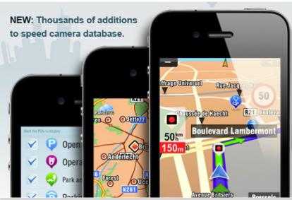 navigatore satellitare per iphone