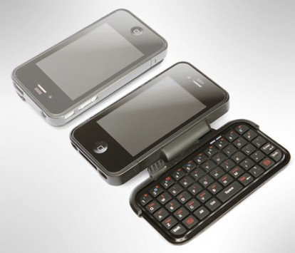 custodia con tastiera per iphone