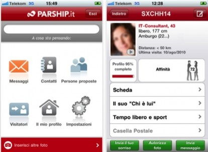 Incontri Apps test iOS