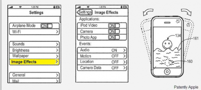 photobooth su iphone ed ipod touch  ecco il brevetto
