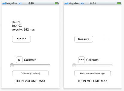 controllare temperatura iphone