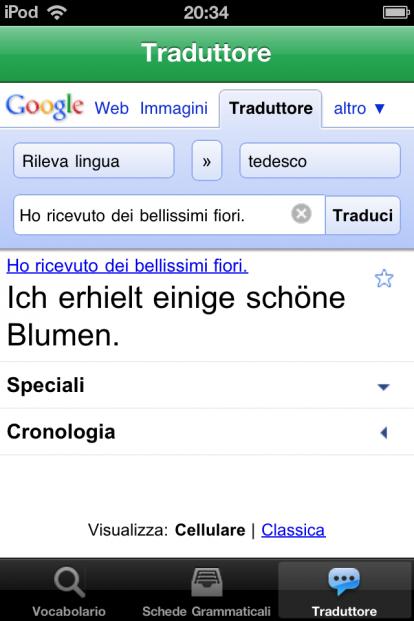 italiano tedesco traduttore
