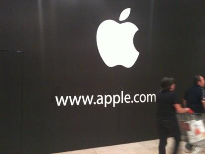 Centro commerciale campania ecco il logo dell 39 apple for Apple store campania