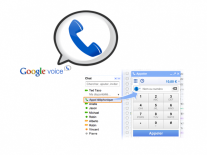 how to call from google voice number on iphone