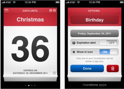 Calendario Countdown.Countdown Me La Migliore Applicazione Per I Conti Alla