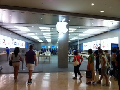 Eugystyle apre il settimo apple store italiano presso il for Apple store campania