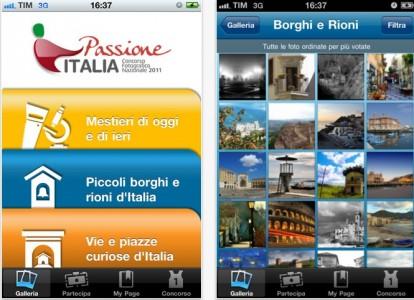 Passion app iphone