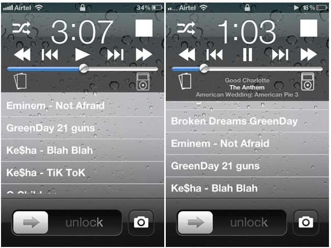 musica direttamente da iphone cydia