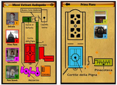 audioguida musei vaticani
