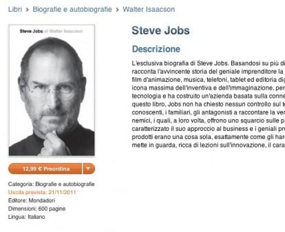 eabe9569e2f La biografia ufficiale di Steve Jobs è disponibile in pre-ordine su ...