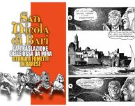 San Nicola – Storia a fumetti in Barese, la traslazione delle ossa da Mira a Bari in un'applicazione-fumetto