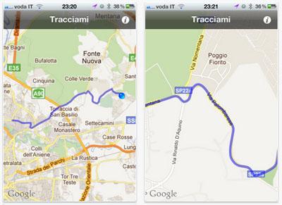 Ios Cartina Geografica.Tracciami L App Ios Per Tracciare Il Proprio Percorso Iphone Italia