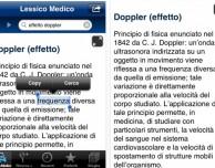 Un'app per capire il lessico medico su iPhone