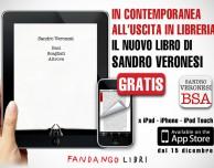 L'ultimo libro di Sandro Veronesi è disponibile integralmente, e gratuitamente, su App Store!