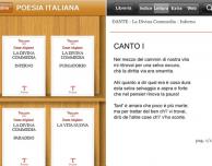 Poesia italiana, una raccolta di testi classici della poesia italiana proposta da Treccani