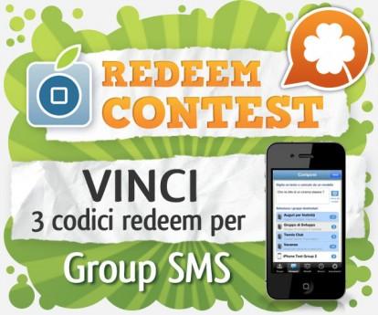 CONTEST: vinci 3 codici redeem per Group SMS