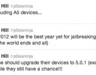 P0sixninja invita anche gli utenti iPhone 4S ad aggiornare il proprio dispositivo: il jailbreak sembra vicino!
