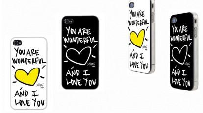 eccf15825b ... custodie per iPhone 4 e iPhone 4S dedicata alla festa di San Valentino.  Si ...