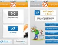No smoking be hAPPy, l'app ufficiale della Fondazione Veronesi per aiutare a smettere di fumare