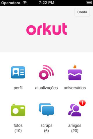 aplicativo orkut para ipad