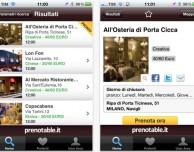 Prenotable, l'app che ti fa trovare e prenotare il ristorante tramite iPhone