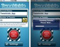 Tweeticide, l'app per cancellare tutti i tuoi tweet in un click