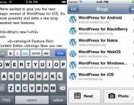 WordPress per iOS: disponibile importante aggiornamento su App Store