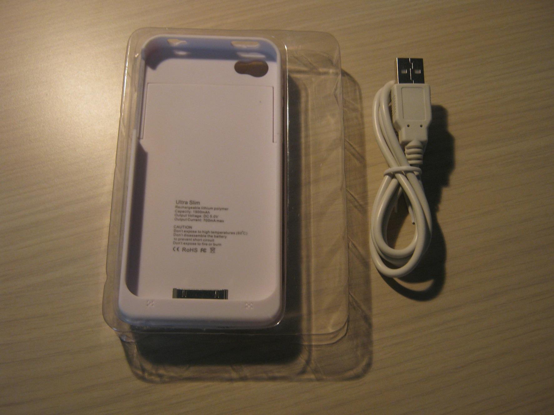 custodia iphone ricarica