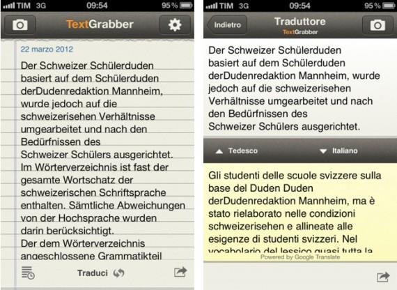 Textgrabber translator acquisisci il testo e modificalo for Traduzione da spagnolo a italiano