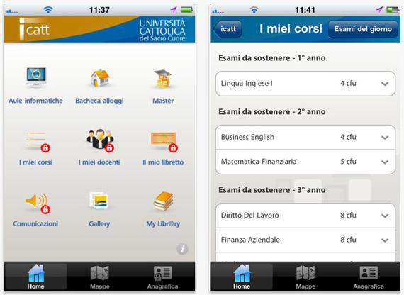 Unicatt Calendario Esami.Icatt L App Ufficiale Dell Universita Cattolica Del Sacro